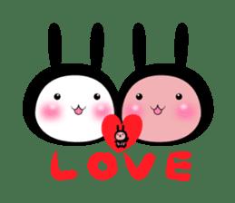 SHINOBI rabbit sticker #9910139