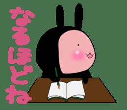SHINOBI rabbit sticker #9910153