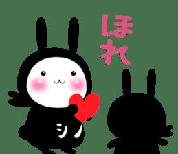 SHINOBI rabbit sticker #9910154