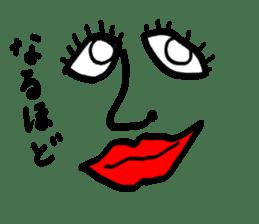 tanaka New York sticker #9911136