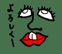 tanaka New York sticker #9911138