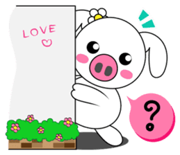 Piggy Lovers sticker #9911682
