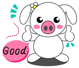 Piggy Lovers sticker #9911683