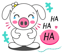 Piggy Lovers sticker #9911689