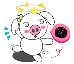 Piggy Lovers sticker #9911692