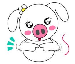 Piggy Lovers sticker #9911697