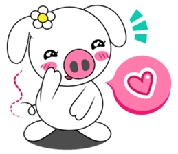 Piggy Lovers sticker #9911699