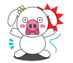 Piggy Lovers sticker #9911702