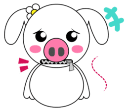 Piggy Lovers sticker #9911703