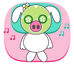 Piggy Lovers sticker #9911704