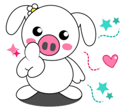 Piggy Lovers sticker #9911705