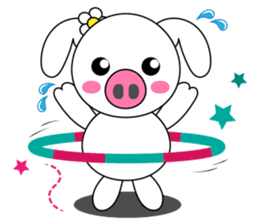 Piggy Lovers sticker #9911714