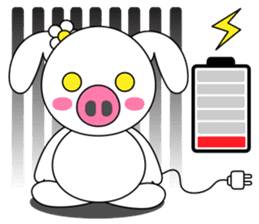 Piggy Lovers sticker #9911715
