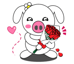 Piggy Lovers sticker #9911716