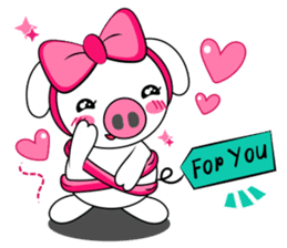Piggy Lovers sticker #9911717