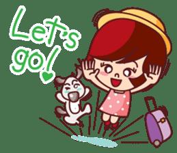 Little Pam 2 (English) sticker #9919455