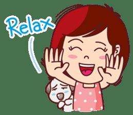 Little Pam 2 (English) sticker #9919462
