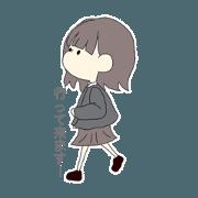 สติ๊กเกอร์ไลน์ yuzuyuzu0422