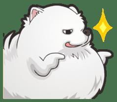 Hi! Pomeranian sticker #9929608