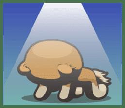 Hi! Pomeranian sticker #9929619