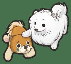 Hi! Pomeranian sticker #9929623