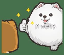Hi! Pomeranian sticker #9929624
