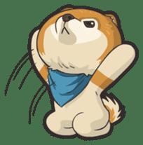 Hi! Pomeranian sticker #9929628