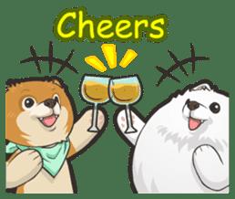 Hi! Pomeranian sticker #9929631