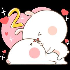 TuaGom : Puffy Bear & Rabbit 2