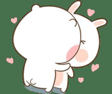 TuaGom : Puffy Bear & Rabbit 2 sticker #9931352