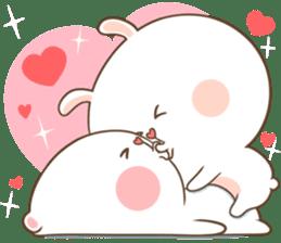 TuaGom : Puffy Bear & Rabbit 2 sticker #9931353