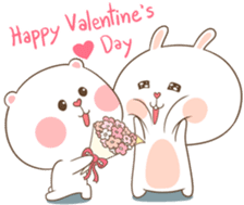 TuaGom : Puffy Bear & Rabbit 2 sticker #9931354