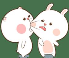 TuaGom : Puffy Bear & Rabbit 2 sticker #9931356