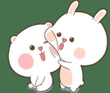TuaGom : Puffy Bear & Rabbit 2 sticker #9931366