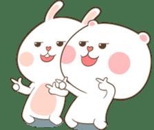 TuaGom : Puffy Bear & Rabbit 2 sticker #9931371