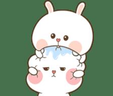 TuaGom : Puffy Bear & Rabbit 2 sticker #9931372