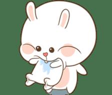 TuaGom : Puffy Bear & Rabbit 2 sticker #9931373