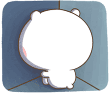 TuaGom : Puffy Bear & Rabbit 2 sticker #9931387