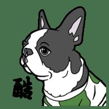 French bulldog  Chinese  Sticker sticker #9936957