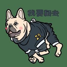 French bulldog  Chinese  Sticker sticker #9936965