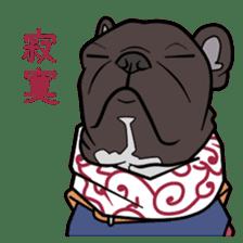French bulldog  Chinese  Sticker sticker #9936966