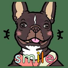 French bulldog  Chinese  Sticker sticker #9936974
