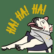 French bulldog  Chinese  Sticker sticker #9936984