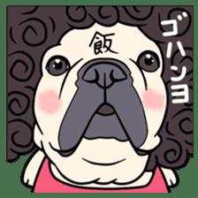 French bulldog  Chinese  Sticker sticker #9936987