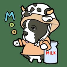 French bulldog  Chinese  Sticker sticker #9936988