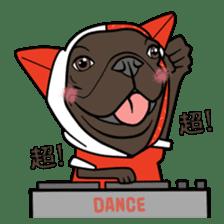 French bulldog  Chinese  Sticker sticker #9936990