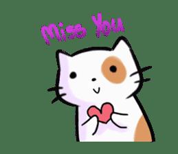 Cookie the Cutest Cat sticker #9944952