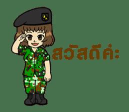 Pretty Soldier sticker #9954216