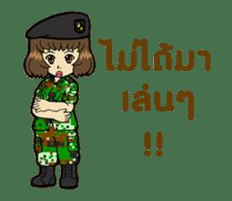 Pretty Soldier sticker #9954220