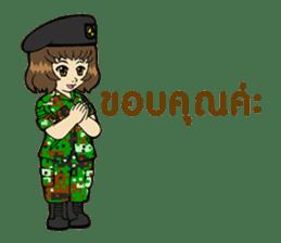 Pretty Soldier sticker #9954221